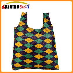 Wholesale Cheap Polyester Foldable Folding Shopping Bag