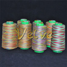 New style unique polyester space dye yarn