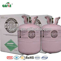 gafle 99.99% purity domestic refrigeration and automobile air conditioners cooling refrigerant gas R410a