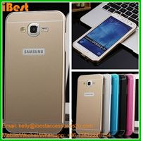 iBest Mirror Acrylic Phone Back Cover Case For Samsung galaxy J7 metal bumper case for samsung galaxy j7