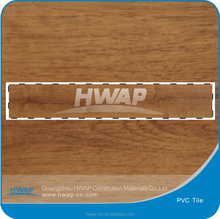 Recycle environment super click protect wooden style vinyl tile