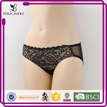 Hot Sale Popular Sexy Girl Flower Lace Yoga Pants Sex Women Panty