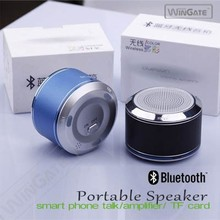 Mini Portable Wireless Stereo Super Bass Bluetooth Speaker for iPhone Black