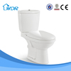 Washdown corner two piece chinese toilets