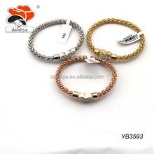 Stainless Steel Hand Chain Snake Magnetic heart Bracelet
