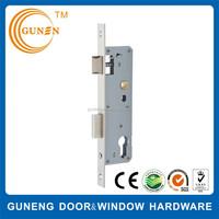 High security touch garage door latch lock