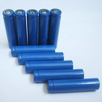 2000mah 3.7V lithium ion cell battery 5C 18650