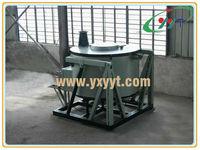 500kg Tilting fuel gas graphite crucible melting furnace