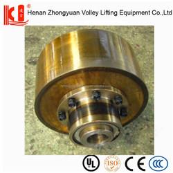 Shaft reducer couplings of hoist