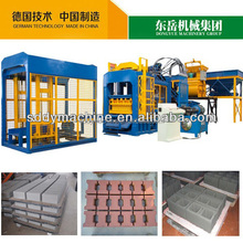 Dongyue Brand QT Automatic Concrete Brick Machine / Fly Ash Brick Machine on Sale (export brick machine more than 100 countries)