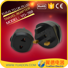 Factory Directly Sell High Quality EU to UK Plug Adapter With CE&RoHS