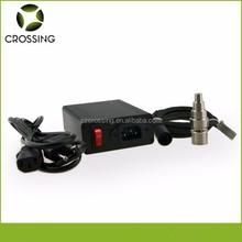 Popular d nail e nail heating coil temperature control box with gr2 titan nail and carb cap ,accept Paypal.