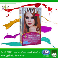 best price private label 100% pure natural hair color cream allergy free box dye for home use