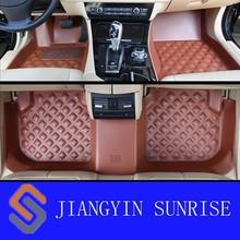 Hot 3D Car Mats for SKODA RAPID/POLO Car Mat types of car mats