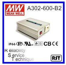 A302-600-B2 True Sine Wave Mean Well 600W 110V 30A DC-AC Power Inverter