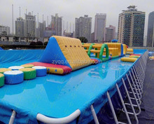 2015 Hot summer sales of land aquatic parks for india