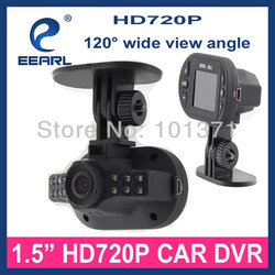 1.5 Inch Smallest HD 720P Rear View Camera For Car C600N 120 Wide View Angle &G-sensor