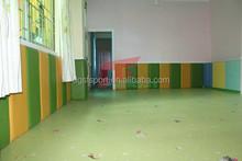 indoor wall protection for kindergarten