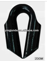 marine rope thimble steel wire rope tube thimble pipe