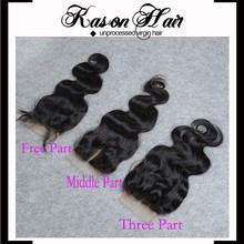 Best Products To Import To Usa Virgin Malaysian Closure Body Wave Lace Closure Bleached Knots Free Middle Or 3 Part