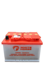 High quality 12V 66AH Dry charged car battery