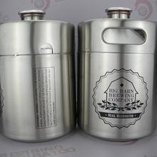 64OZ mini keg bottle for taper cut tower
