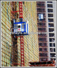 Construction Elevator with One Car.1496 feet per minute. Lifting heights max out at 9843 feet for construction buildings