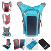 2015 newest popular outdoor solar panel backbag for hiking/camping
