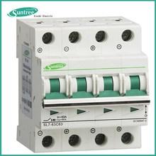 SAA TUV CB Solar PV Electric Single phase 3 Phase AC DC Miniature Circuit Breaker MCB 1P 2P 3P 4P 1A~63A