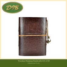 7Inches x5Inches Vintage Retro Leather Cover Notebook Journal