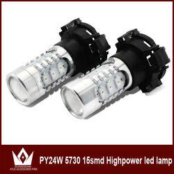 Types Of Bulbs For Cars Led Light 20W High Power 5730 Chips Led Light 1156/1157/3156/3157/5200s/py24w/p13w/5202/psx26w socket