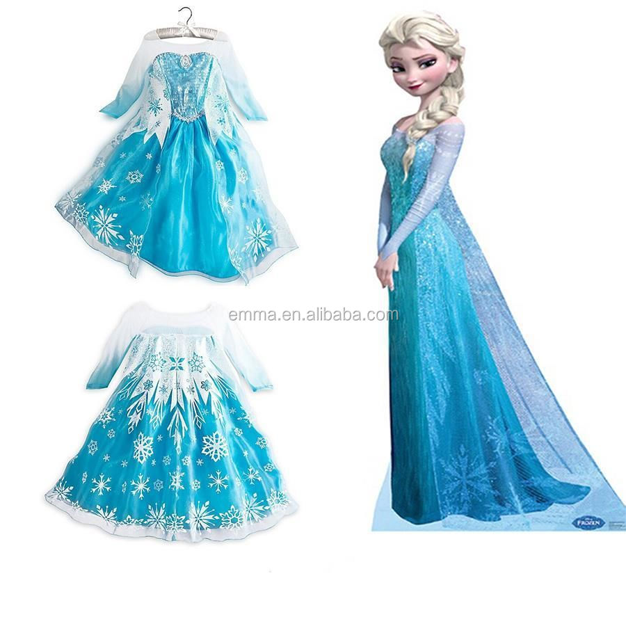 BC183 BC182 BC184 BC175  sc 1 st  Alibaba & 2015 Frozen Halloween Costumes Frozen Anna Dress For Girls Dress Up ...
