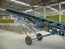 Widely used mobile rubber belt conveyor from Dezhou YILUN