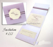 Design hot-sale popular mini invitation card