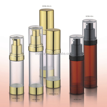 OEM welcomed plastic rotate cosmetic bottles