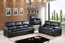 promotional sale sofa set, faux leather sofa at cheap price, modern living room furniture sofa E501