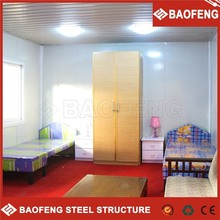 easy assembled low cost modular prefabricated houses shelters