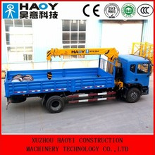 hydraulic mini mobile crane radio control telescopic truck crane