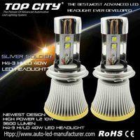 High Powerful Latest 40W Canbus Led Headlight Bulb H4 HIGH/LOW