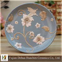 New painting ceramic plates to decorate