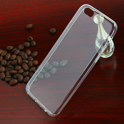 2016 clear cover tpu Mobile phone accessories Beautiful protective case for iphone 6