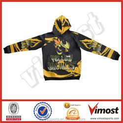 custom made sports jacket colored hoodies blue running jacket Custom thick fleece hoodie