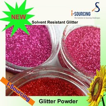 wholesale solvent resist glitter for tattoo, glitter powder