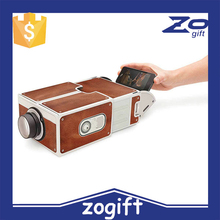 ZOGIFT 2015 New Smartphone with Projector 2.0 DIY Cardboard Mobile Phone Projector