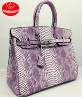 International with the serpentine Platinum handbag / high-end duffle bag/diagonal package bags