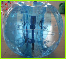 Fashionable sports entertainment TPU material football inflatable body zorb ball