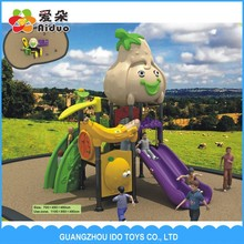 Customized commercial children outdoor playground for plastic garden