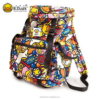 Wholesale korean style camping laptop bags laptop backpack