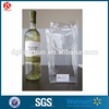 Wholesale Custom Gift Plastic Wine Bag,Wine Bottle Bag