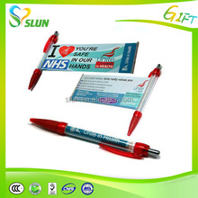 Colorful customized product cheap banner pens